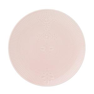 ≪ロイヤル コペンハーゲン≫フラワーエンブレム クーププレート ピンク
