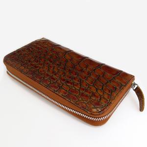 ≪Della≫財布 シングル(クロコブラウン)