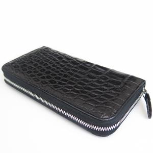 ≪Della≫財布 シングル(クロコブラック)