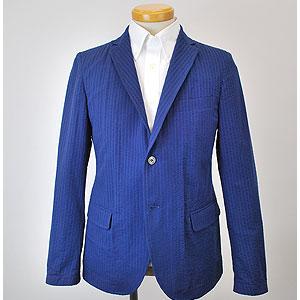 シャツジャケット(ブルー・CSNJ128006)