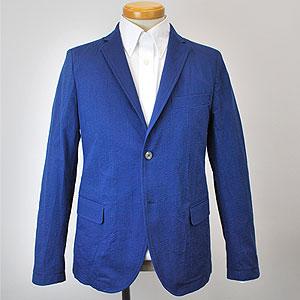シャツジャケット(ブルー・CSNJ128009)