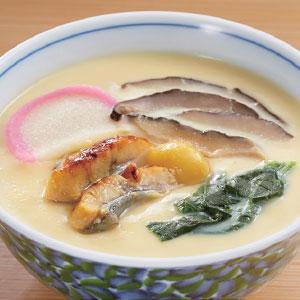 商品画像:《おいしいもの便り》 だし自慢国産うなぎ入り茶碗蒸しの素 3袋計12食