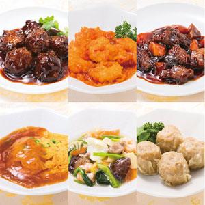 《ハロートーク》 〈四陸〉中華惣菜6種セット 6種