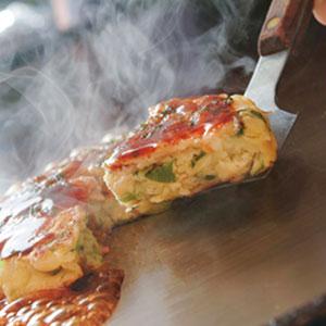《ハロートーク》 〈京都 どんぐり〉京野菜の入った京風お好み焼 2種 計10枚