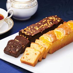 《ハロートーク》 〈帝国ホテル〉オレンジケーキ・チョコブラウニーケーキセット 2種 計2本