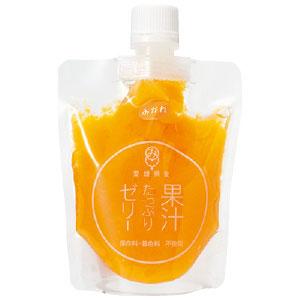 《ハロートーク》 よりどり市場 果汁たっぷりゼリー 温州みかん 150g