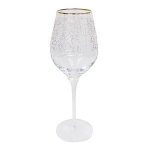 ≪シュトルツル≫アラベスク フィオリ ワイングラス(ゴールド)