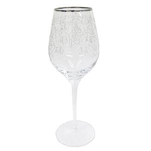 ≪シュトルツル≫アラベスク フィオリ ワイングラス(プラチナ)