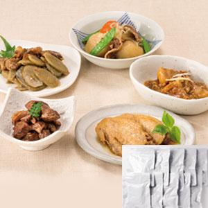 《ハロートーク》 ロングライフ煮物 お肉の惣菜セット(10袋セット)