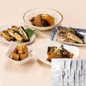 《ハロートーク》 ロングライフ煮物 お魚の惣菜セット(10袋セット)
