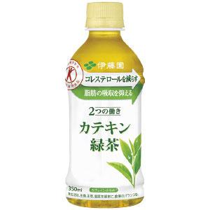 《ハロートーク》 〈伊藤園〉2つの働きカテキン緑茶 350ml × 24本
