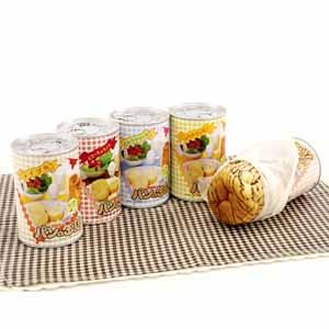 《ハロートーク》 〈アキモト〉パンの缶詰 5種 計15缶セット