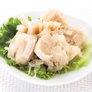 《ハロートーク》 〈ストー〉北海道産ほたて貝柱水煮割肉 8缶