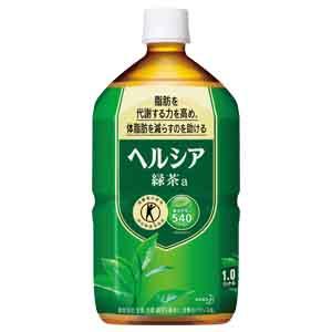 《ハロートーク》 〈花王〉ヘルシア緑茶 1L×12本