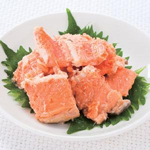 《ハロートーク》 〈ニッスイ〉銀鮭中骨水煮 6缶
