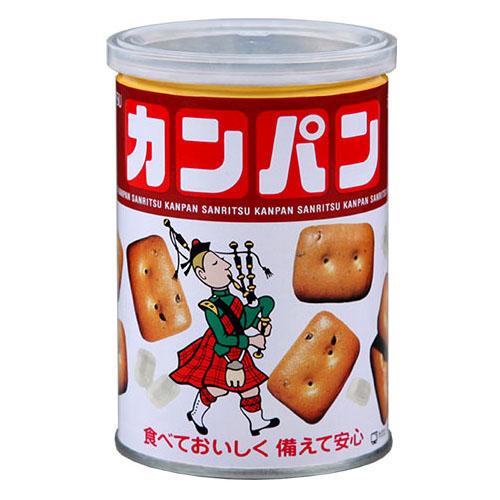《ハロートーク》 〈三立製菓〉氷砂糖入りカンパン 12缶セット