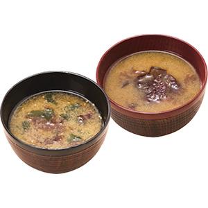 《ハロートーク》 北海道漁師の味噌汁セット(顆粒タイプ) 2種 計10袋