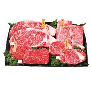 お中元 [白老町]≪上村牧場≫白老牛ステーキ一頭盛8枚【冷凍】