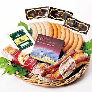 お中元 [黒松内町]≪トワ・ヴェール≫2種類のベーコン&チーズセット【冷蔵】