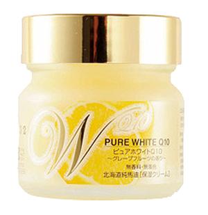 ≪北海道純馬油本舗≫ピュアホワイトQ10 グレープフルーツ/65g