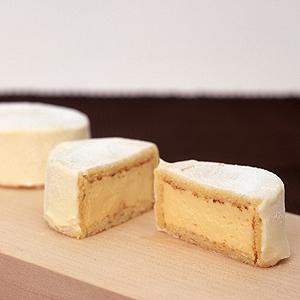 ≪ユーハイム・ノースハーベスト≫カマンベールチーズケーキ3個入(北海道限定)★(冷凍)