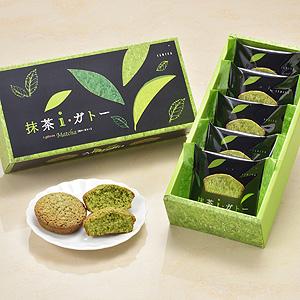 ≪石屋製菓≫抹茶i・ガトー 5個入り ☆(冷蔵)