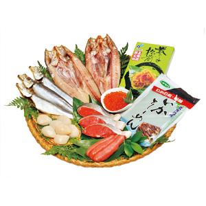 お中元 ≪まるなか≫オホーツク海鮮味覚 漁火【冷凍】