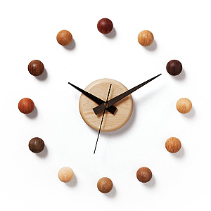 ≪ドリーミィーパーソン≫壁掛け時計 サテライトクロック 4-MMB