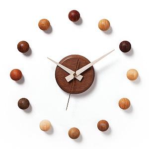 ≪ドリーミィーパーソン≫壁掛け時計 サテライトクロック 9-WMN