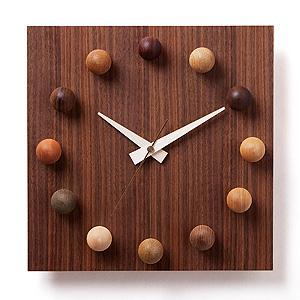 ≪ドリーミィーパーソン≫壁掛け時計 ビーズクロック 12-WMN