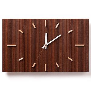 ≪ドリーミィーパーソン≫壁掛け時計 ナガテンクロック ウォルナット