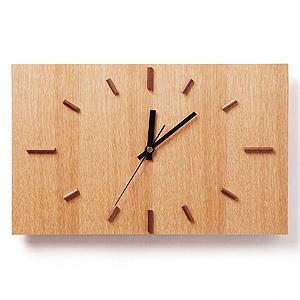 ≪ドリーミィーパーソン≫壁掛け時計 ナガテンクロック ナラ
