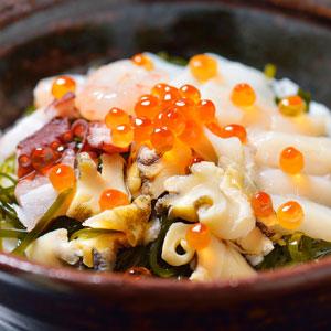 ≪くまだ≫海鮮丼の素・食べきり8種★(冷凍)