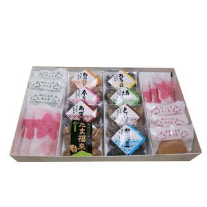 ≪石黒商店≫甘納豆・モナカ・花み餅 詰合せ(A) 【北のハイグレード食品】