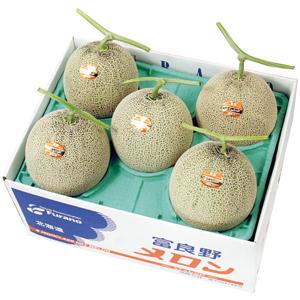富良野メロン(優品)1.6kg×5玉
