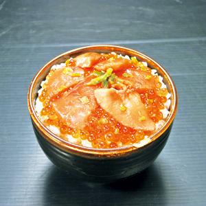 銀聖鮭親子漬丼 ★(冷凍)