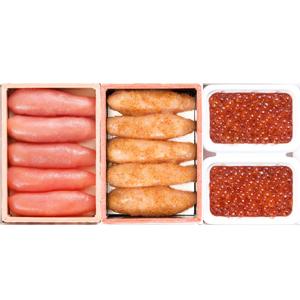 ≪鹿部町・丸鮮道場水産≫北海道産の魚卵3点セット ★(冷凍)