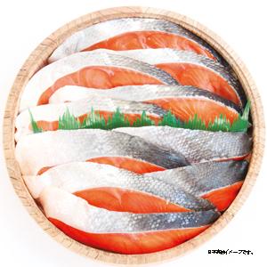 木樽入 紅鮭・時鮭詰合せ ★(冷凍)