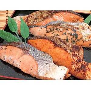 秋鮭味比べ8切詰合せ ★(冷凍)