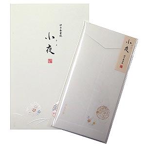 ≪鳩居堂≫レターセット小夜(あやめ、萩)