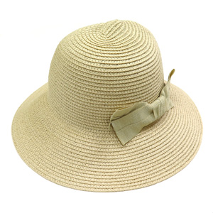 ≪ロペピクニック シェリ≫帽子(ライトベージュ)
