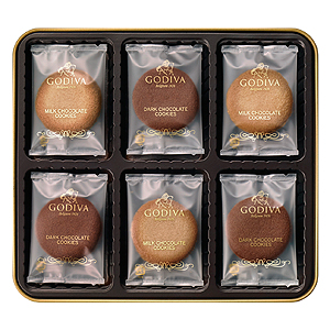 ≪ゴディバ≫クッキーアソートメント(18枚入)