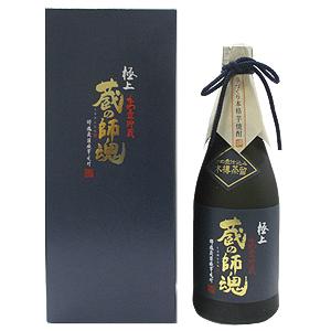 ≪鹿児島・小正醸造≫芋焼酎 極上 かめ壺貯蔵 蔵の師魂