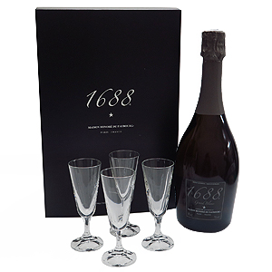1688 グラン・ブラン グラスセット(ノンアルコール・スパークリング)