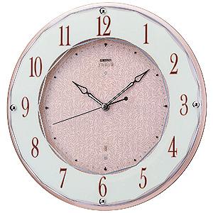 ≪セイコー エンブレム≫ 電波掛時計 HS524A