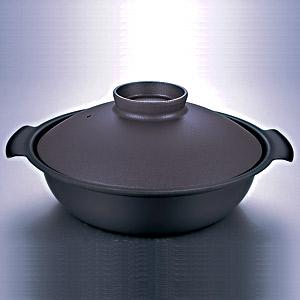 ≪DONABE≫IH対応鍋(グレー・24cm)