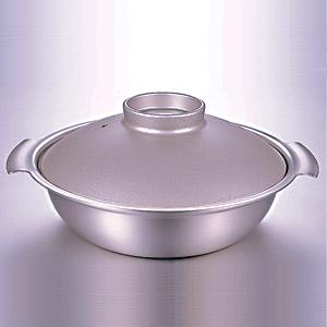 ≪DONABE≫IH対応鍋(シルバー・24cm)