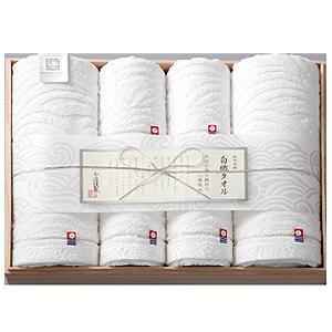 ≪今治謹製≫白織タオル(バスタオル2枚・フェイスタオル4枚)