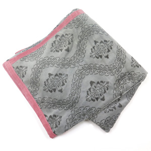 ≪東京西川≫シール織綿毛布(ピンク)