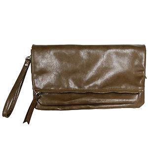 ≪ラジルマ≫2WAYお財布クラッチ(ブラウン)